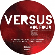 Back View : Various Artists - VERSUS VOLUME FOUR (PINK & BLACK MARBLED VINYL) - Lossless / LOSS011