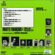 Back View : Nkottie Francois & The Black Styls 77 - DE BONABERI A DOUALA (LTD LP + MP3) - Nanga Baka Records / NBK-001