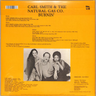 Back View : Carl Smith And The Natural Gas Company - BURNIN (2LP) - BBE / BBE586ALP