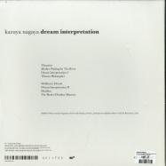 Back View : Kazuya Nagaya - DREAM INTERPRETATION (WHITE LP) - Sci+Tec / TEC006LP / 05184761