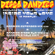 Back View : Disco Dandies feat Leon Ware - INSIDE YOUR LOVE (2 PEOPLE) - High Fashion Music / MS 494
