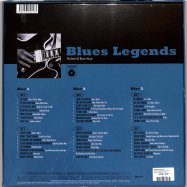 Back View : Various Artists - BLUES LEGENDS (3LP BOX) - Wagram / 3381826 / 05202271