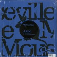 Back View : Cirez D - THE ACCUSER (BLUE VINYL) - Mouseville / Mouse023