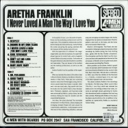 Back View : Aretha Franklin - I NEVER LOVED A MAN THE WAY I LOVE YOU (180G LP) - 4 Men With Beards / 4M101
