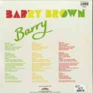Back View : Barry Brown - BARRY (180G LP) - Burning Sounds / BSRLP930