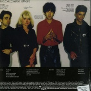 Back View : Blondie - PLASTIC LETTERS (180G LP + MP3) - Capitol / 5355033