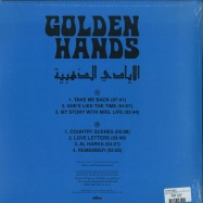 Back View : Golden Hands - GOLDEN HANDS LP (LTD.GOLD COLOURED VINYL) - Sdban / SDBANLP06LTD