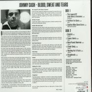 Back View : Johnny Cash - BLOOD SWEAT AND TEARS (180G LP) - Not Now Music / CATLP160 / 9054015