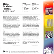 Back View : Ruben Rada & Eduardo Mateo - BOTIJA DE MI PAIS (LP) - Little Butterfly Records / LBR 029