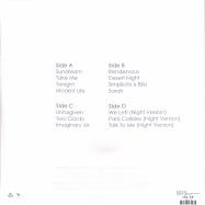 Back View : Rufus Du Sol - ATLAS (2LP, WHITE VINYL REPRESS) - Sweat It Out / SWEATSV014