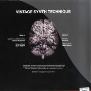 Back View : Various - VINTAGE SYNTH TECHNIQUE - Minimal Soul / MSR003