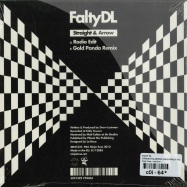 Back View : FaltyDL - STRAIGHT & ARROW (GOLD PANDA MIX) (7 INCH) - Ninja Tune / zen7337