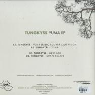 Back View : Tungkyss - YUMA EP (PABLO BOLIVAR REMIX) - Solkyss / SOLKYSS3