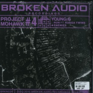 Back View : Project Mohawk 4 / Young G - DUBS (10 INCH + MP3) - Broken Audio Recordings / BRKN026