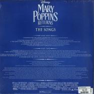 Back View : Marc Shaiman & Scott Wittman - MARY POPPINS RETURNS: THE SONGS (LP) - Walt Disney Records / 8740883