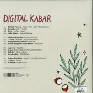 Back View : Various Artists - Digital Kabar - DIGITAL KABAR (2LP) - Infine / IF1052LP