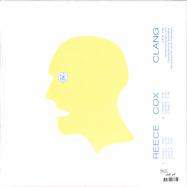 Back View : Reece Cox - CLANG (LTD BLUE LP) - Ideal / IDEAL196