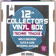 Back View : Various Artists - 12Inch COLLECTOR S VINYL BOX: TECHNO TRACKS (5LP BOX) - Zyx Music / MAXIBOX LP25