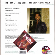 Back View : Tony Cook - THE LOST TAPES VOL. 1 (LTD. PURPLE COLORED VINYL) - Happy Milf Records / HMR011LTD