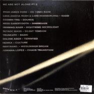 Back View : Various Artists - WE ARE NOT ALONE - PART 3 (2LP) - Bpitch Control / BPX012-PT3