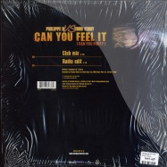 Back View : Philippe B vs Todd Terry - CAN YOU FEEL IT - Universal / 9834736