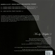 Back View : Daniela La Luz - PEOPLE HAPPY (THE ESSENTIAL VOYAGE) - Moody Heights / mh#one