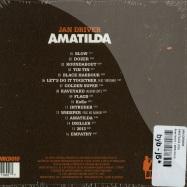 Back View : Jan Driver - AMATILDA (CD) - Boys Noize / BNRCD010