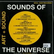 Back View : Various Artists - SOUNDS OF THE UNIVERSE: ART + SOUND PT. 2 (2X12 LP) - Soul Jazz Records / sjrlp307b / 05113301