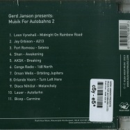 Back View : Gerd Janson Presents - MUSIK FOR AUTOBAHNS 2 (CD) - Rush Hour / RHM 018 CD