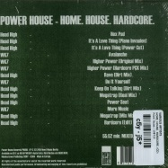 Back View : Various Artists - HOME. HOUSE. HARDCORE. (CD) - Power House / PH606 / 108712