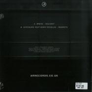 Back View : Break / Exposure - SOLVENT / REGRETS - AR Records / AR003
