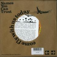 Back View : Abelardo Carbono Y Su Grupo ft. Quantic - LA PINA MADURA (7 INCH) - Names You Can Trust / nyct7038
