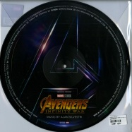 Back View : Alan Silvestri - AVENGERS: INFINTY WARS O.S.T. (PICTURE LP) - Marvel / 8739798