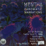 Back View : Mentha - CHROMATIC NARRATIONS FT. VALE & APHTY KH - Mentha Music / Mentha001