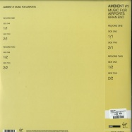 Back View : Brian Eno - AMBIENT 1: MUSIC FOR AIRPORTS (180G 2LP + MP3) - Universal / ENO2LP6 / 6775047