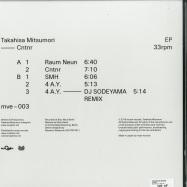 Back View : Takahisa Mitsumori - CNTNR - Moph Records / MVE-003