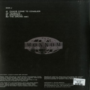 Back View : Dax J - CHAOS COME TO CONQUER EP - Monnom Black / MONNOM018R
