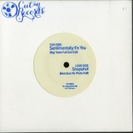 Back View : Gigi Testa / Monchan - SENTIMENTALLY ITS YOU / SNAPSHOT (7 INCH)(VINYL ONLY) - Cut My Records / CUTMR004