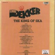 Back View : Desmond Dekker - THE KING OF SKA (180G, RED COLOURED VINYL) - Burning Sounds / BSRLP905