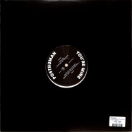 Back View : Posthuman - YOURE MINE (INC LUKE VIBERT REMIX) (CLEAR VINYL) - Food Music / YUM062V