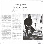 Back View : Miles Davis - KIND OF BLUE (180G LP) - DOL / DOL725H