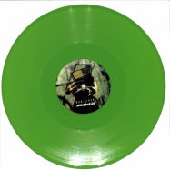 Back View : Dub-liner Feat. General T.k. - RACIAL WAR FEAT. GENERAL T.K. / GIVE A L (GREEN VINYL) - Jungle Cat Recordings / JCAT010