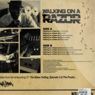 Back View : Lewis Parker - WALKING ON A RAZOR (LP) - King Underground / ku/wodv-004