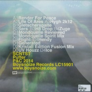 Back View : Scntst - PUFFER (2X12 LP) - Boys Noize / BNRLP024