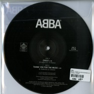 Back View : ABBA - EAGLE / THANK YOU FOR THE MUSIC (7 INCH PICTURE DISC) - Universal / 5762520