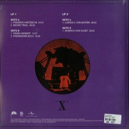 Back View : Klaus Schulze - X (180G 2X12 LP + MP3) - Brain - Universal / 5789291