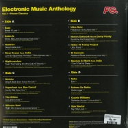 Back View : Various Artists - ELECTRONIC MUSIC ANTHOLOGY 01 (2LP) - Wagram / 3358776 / 05169321