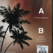 Back View : Glo Phase - ALL THATS HAPPENED (7 INCH) - Stasis Recordings / SRWAX11