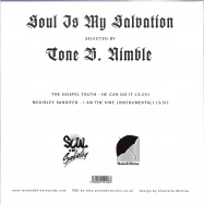 Back View : Tone B. Nimble - SOUL IS MY SALVATION CHAPTER 3 (7 INCH) - Rain&Shine / RSRSIMS003