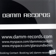 Back View : Glanz & Ledwa Feat. Marc Baile - MONDAY MORNING / ACCENTUATION - Damm Records / Damm002